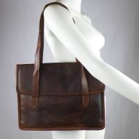 Business Tasche Aktentasche aus vegetabil gegerbtem Ziegenleder
